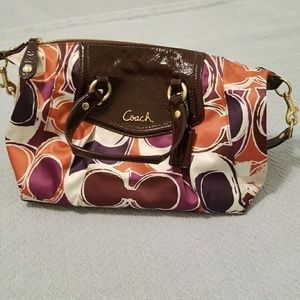 VGUC Coach Ashley Sateen Satchel and Wallet